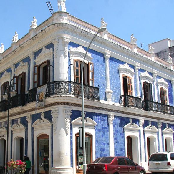 Museos en villahermosa for Edificio de los azulejos