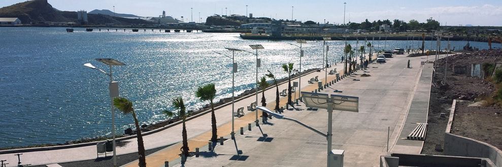 Puerto de Topolobampo en Los Mochis.