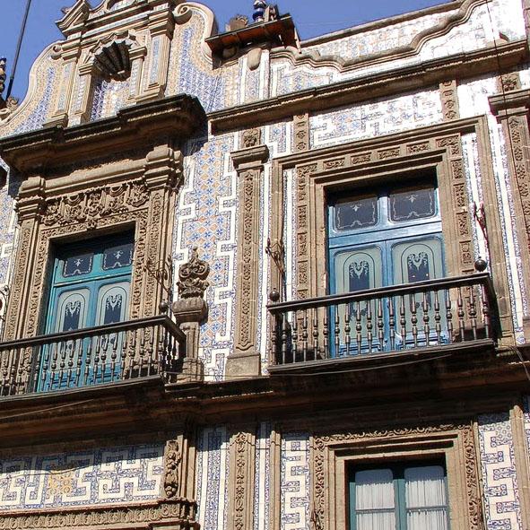 Arquitectura colonial en la ciudad de m xico for Casa de azulejos cordoba